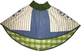 wenderock 110-134 blau-grün blümchen