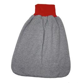 baby-schlafsack, regenbogen mit grau