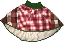 wenderock 110-134 rot karo-grün