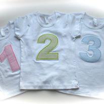 T-Shirt mit Zahl