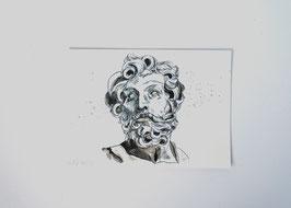 Fine-art print of a sketch