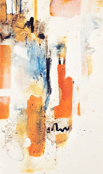 'I' abstract fine-art print size L
