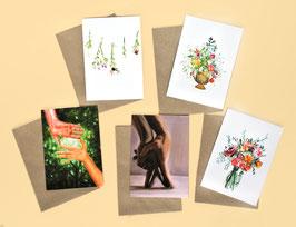 NEW: Figurative postcard set - compose your own set!