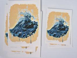 'Dancing wave' fine-art print