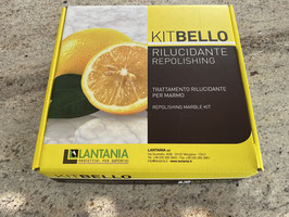 KIT Bello - Reparatur Set - Poliermittel für Marmor