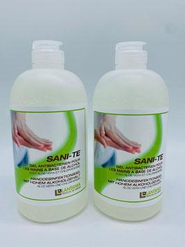 SANI-TE Handdesinfektiongel mit Aloe Vera