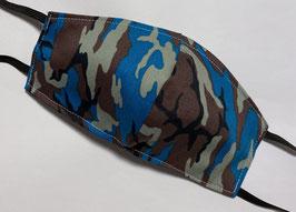 Maske 3D Form Military