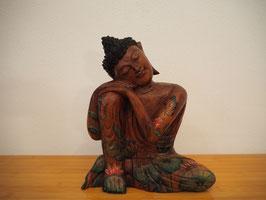 Ruhender Buddha, Kopf nach links geneigt - B19/40