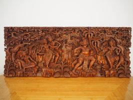 Ramayana Heldenepos 2 - Relief-Wandbild -Meisterstück-