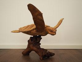 Meeresschildkröte aus Suarholz