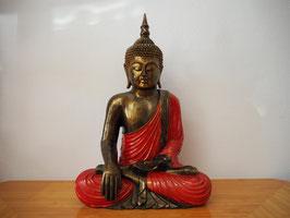 Buddha in Geste der Erdberührung aus Resin - B19/50