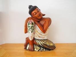 Ruhender Buddha, Kopf nach links geneigt - B19/134