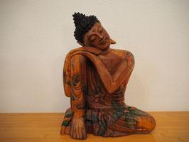Ruhender Buddha, Kopf nach links geneigt - B19/38