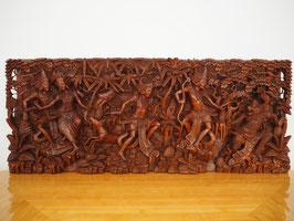 Ramayana Heldenepos 1 - Relief-Wandbild -Meisterstück-