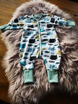 Langarm Schlafanzug Wölckchen