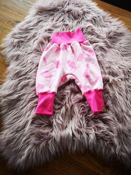 Pumphose Wolken rosa Gr. 62/68