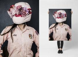 Flower Helmet