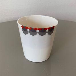 Ceramic Cup - Keramik Becher - Tasse en céramique CEPA 108 CupRedGray