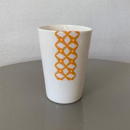 Ceramic Cup - Keramik Becher - Tasse en céramique CEPA 104 CupBigOrange