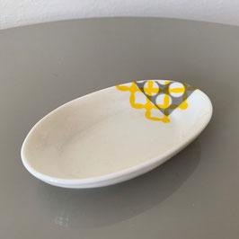 Ceramic Serving Plate - Keramik Servierplatte - Plat en céramique CEPA 109 Ovalmini