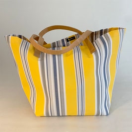 Bag - Tasche - Sac  BC 002 Mur (yellow, grey and white)