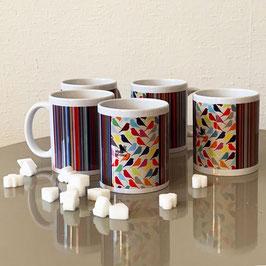 Porcelain Mug - Porzellan Becher - Mug en Porcelain Morning Birds