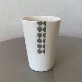 Ceramic Cup - Keramik Becher - Tasse en céramique CEPA 103 - CupBigGray