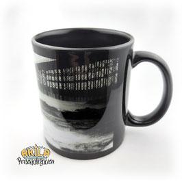 Taza de Color Negro