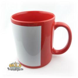 Taza de Color Rojo