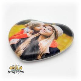 Imán Corazón 3d personalizado