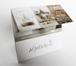 "Gutschein ""Home for X-mas"" , Art. GSL-492510102"