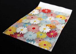 """Flachbeutel """"Blüten"""" coated 86251F"""