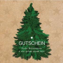 """Gutschein """"TANNENBAUM"""" 492510104"""