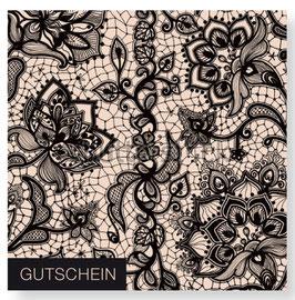 """Gutschein """"Spitze Schwarz"""" 492010193"""