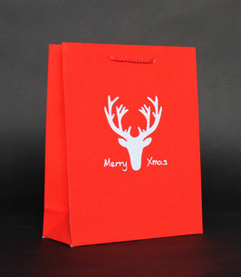 """LUXUS """"GLAMOUR - MERRY XMAS - RED"""