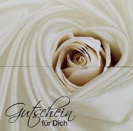 """Gutschein """"Weiße Rosen"""" , Art. GSL-492010208"""
