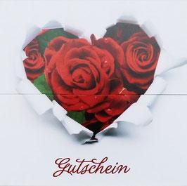 """Gutschein """"Rosen & Herzen"""" , Art. GSL-492010052"""