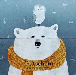 """Gutschein """"Bär & Eule"""" , Art. 492510130"""