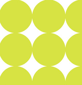 K601311-1 BIG DOTS LIME