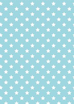 K601473-11 WHITE STARS ON BLUE