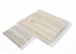 Flachbeutel  WHITE WOOD