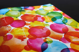 K601660 WATERCOLOUR BALLONS COATED