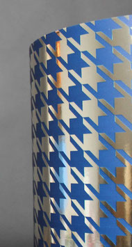 STA 14820101M PEPITA BLUE-METALLIC