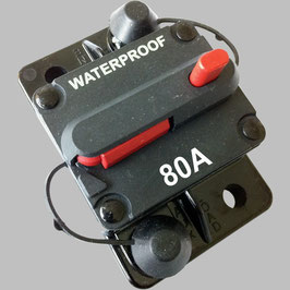 80A Sicherungs-Automat mit Resetschalter / Aufbauversion