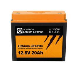 LIONTRON LiFePO4 LX 12,8V 20Ah (kein Bluetooth) 5 Jahre Hersteller Garantie