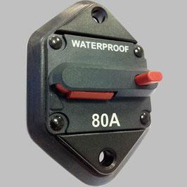 80A Sicherungs-Automat mit Resetschalter / Einbauversion