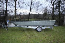 GFK Katamaranboot HY 5.0  5.00 x 1.70 (Boot ohne Trailer, Zubehör und Ausbau)