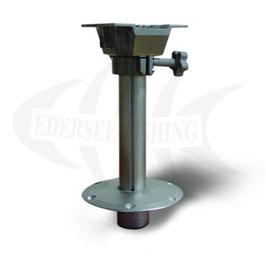 PEDESTAL / BOOTSSTUHLFUß abnehmbar mit Drehplatte, Gesamthöhe: 380 mm