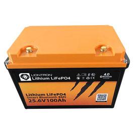 LIONTRON LiFePO4 25,6V 100Ah LX Smart BMS mit Bluetooth 5 Jahre Hersteller Garantie