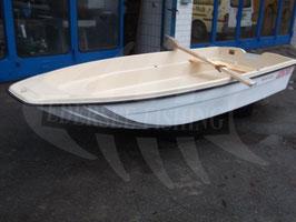 K1 Fishermann GFK Katamaranboot 3,85 x 1,58 (Boot ohne Zubehör, Trailer und Ausbau)